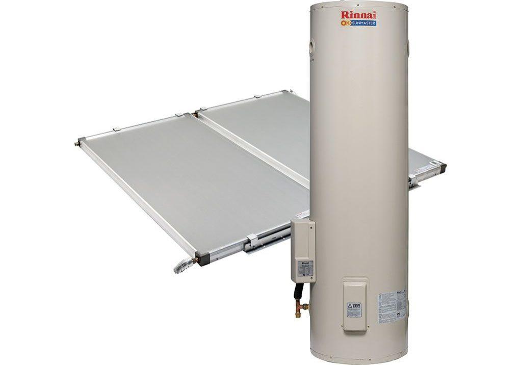 rinnai-sunmaster-solar-hot-water